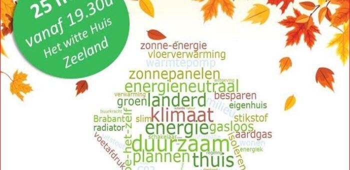 Voorlichting over project Brabant Woont Slim